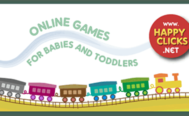 Free Games For Toddlers And Babies Colorful Train