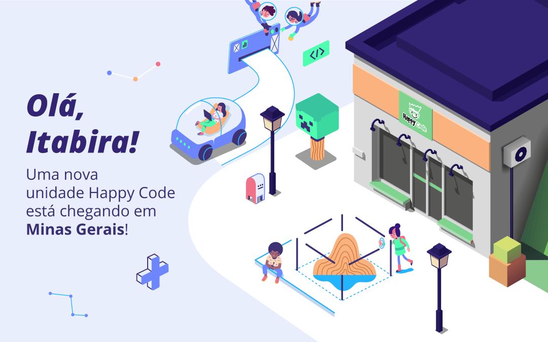 Happy Code chega em breve a Itabira com os melhores cursos de tecnologia