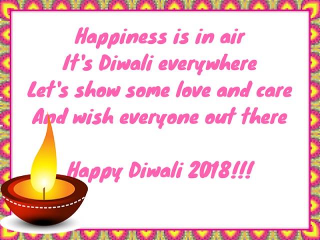 celebrate Diwali 2018