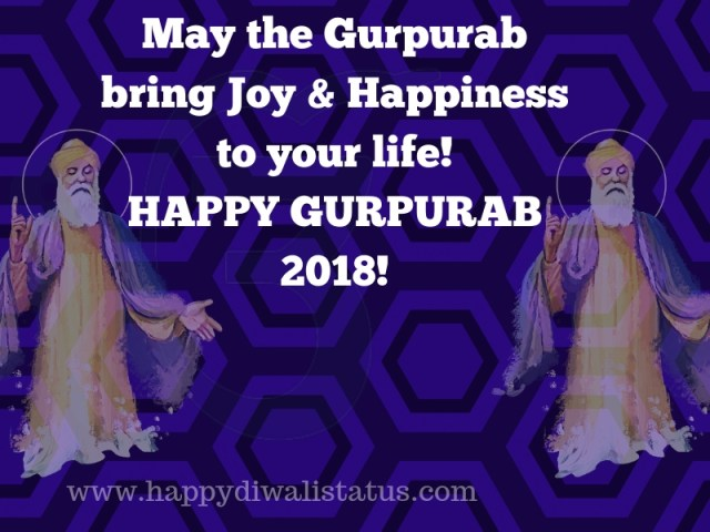 Gurupurab celebrates with pictures, messages, and quotes