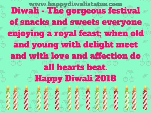 Celebrate Diwali With Sweets, Lights, and Fireworks in the year of 2018