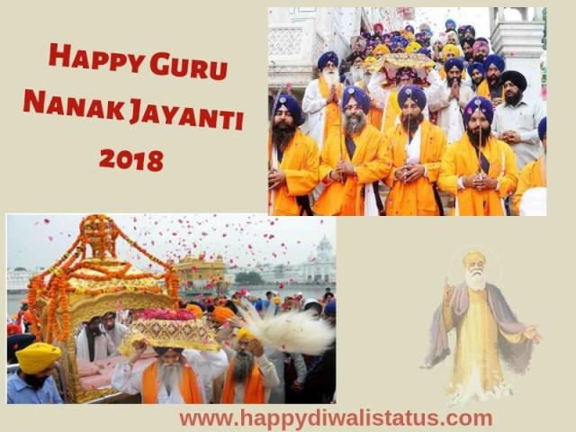 Guru Nanak Jayanti observe in India with Latest status and messages