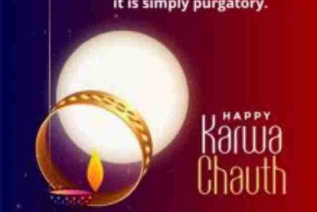 Karwa Chauth Status and Shayari For Karwa Chauth 2021