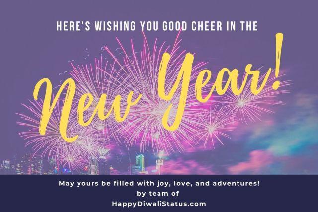 New year status  Happy New Year 12 Status & images