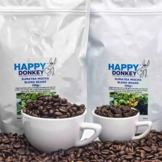 Image displaying sumatran mocha coffee beans