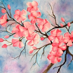 Diagram The Parts Of Cherry Blossom Tree Chrysler Sebring Radio Wiring Watercolor Painting