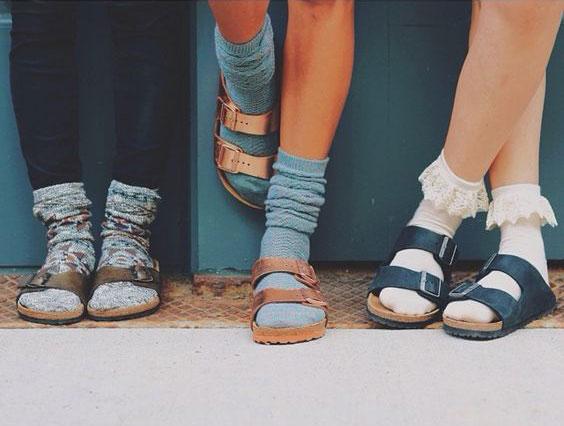 birk-with-socks
