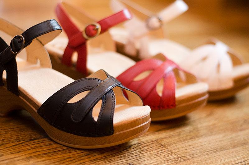 dansko-leather-sandal-white-red-black-womens-shoes
