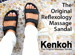 Kenkoh: The Original Reflexology Massage Sandal