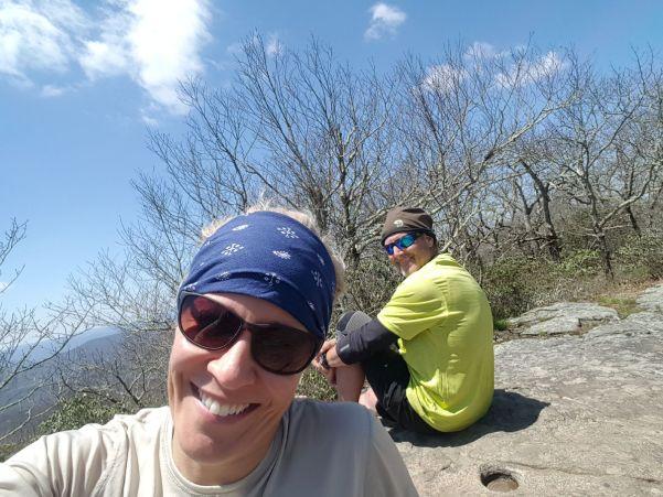 Appalachian Trail Hikers Mark and Linda