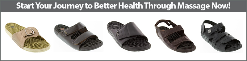 Start your journey to better health through Kenkoh Massage Sandals now!