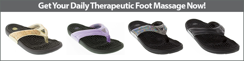 Get Your Daily Therapeutic Foot Massage with Kenkoh Massage Sandals Now!