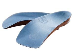 Birkenstock Blue Footbed Orthotics
