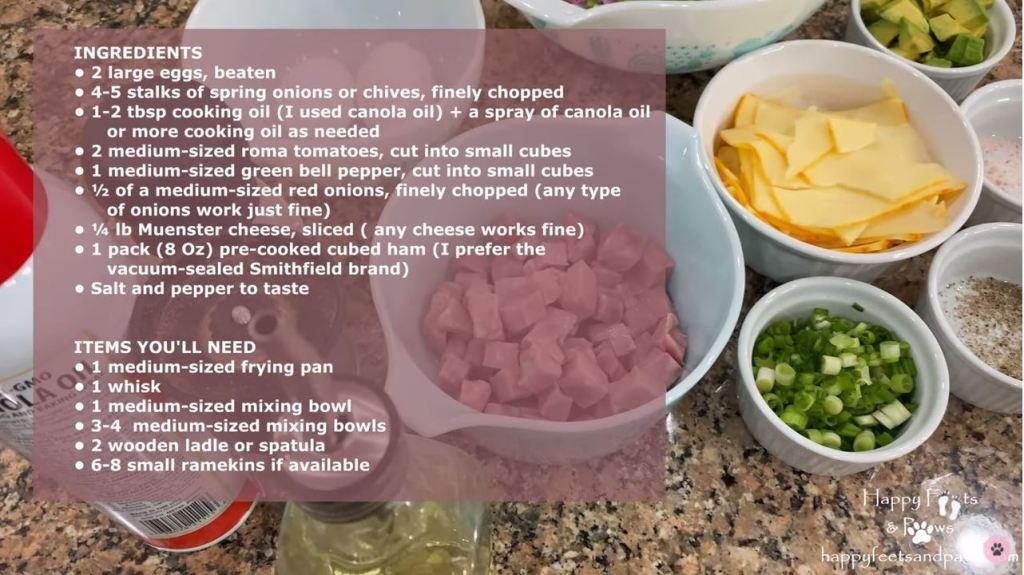 denver omelet ingredients prepared