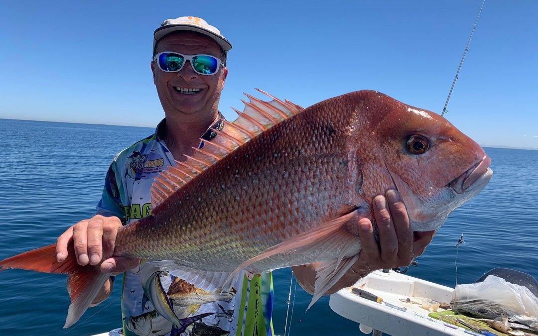 2020 Nov 25th – Fishing Port Phillip Bay Snapper
