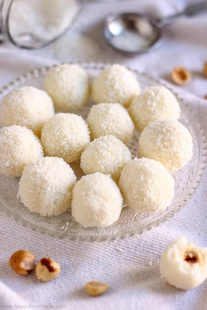 3-Ingredient Raffaello Coconut Balls Pictures