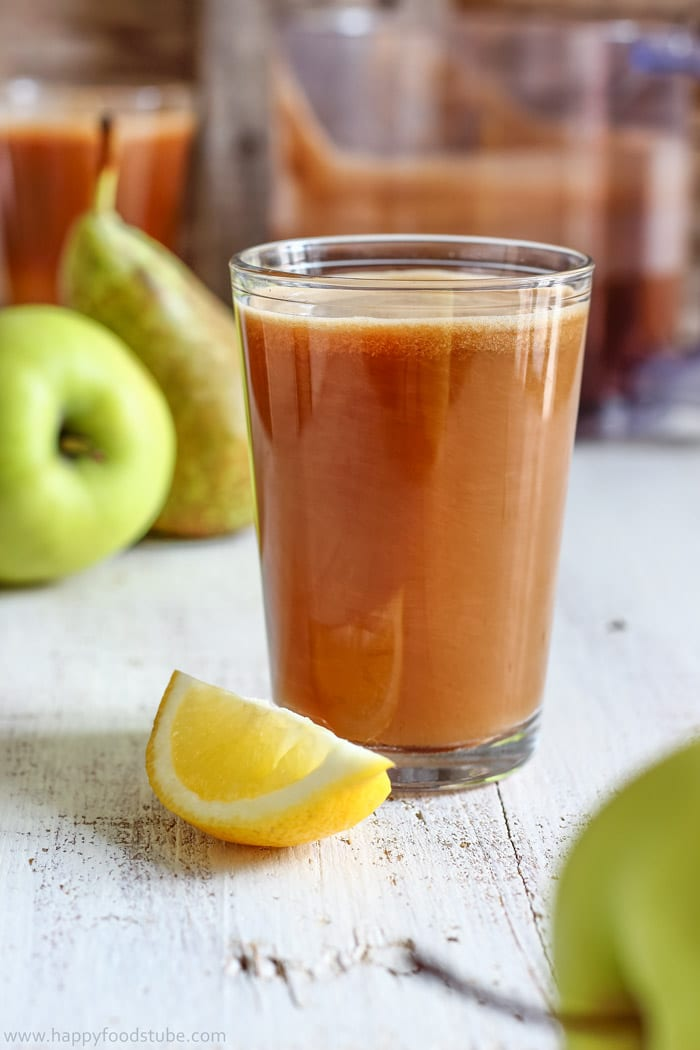 Cloudy Apple Pear Juice Pic