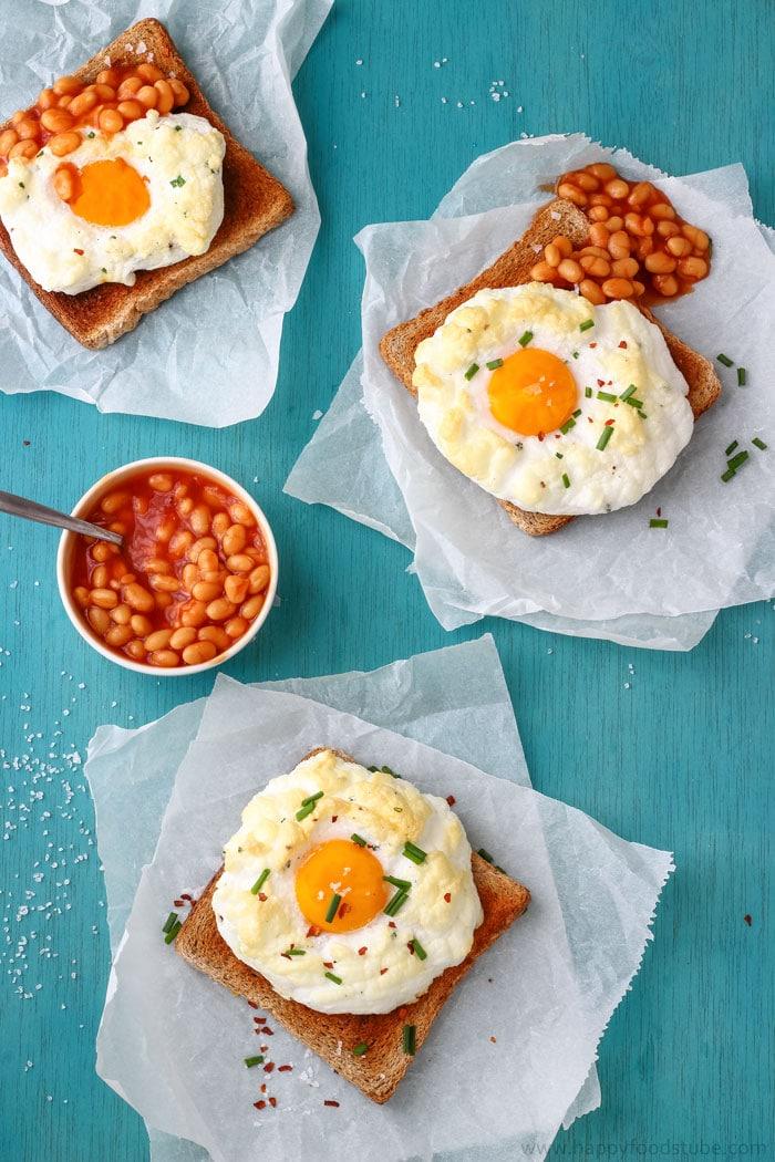 Breakfast Cloud Eggs Pic
