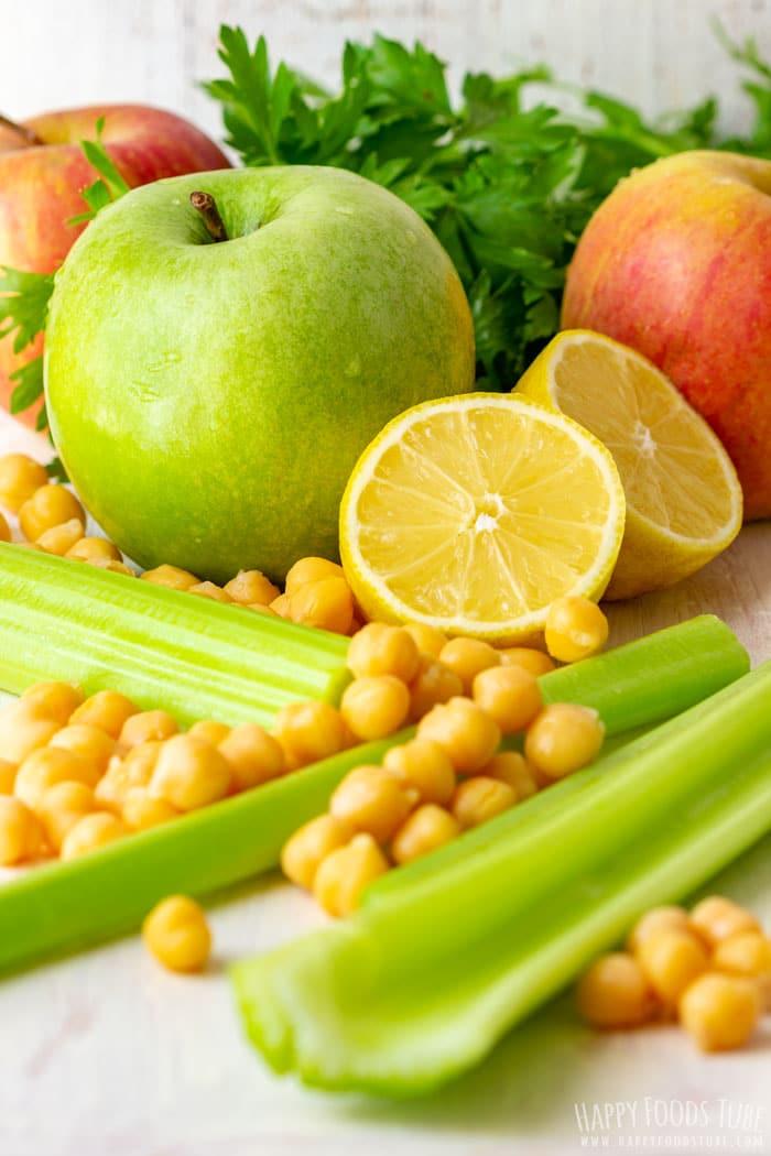 Apple Chickpea Salad Ingredients