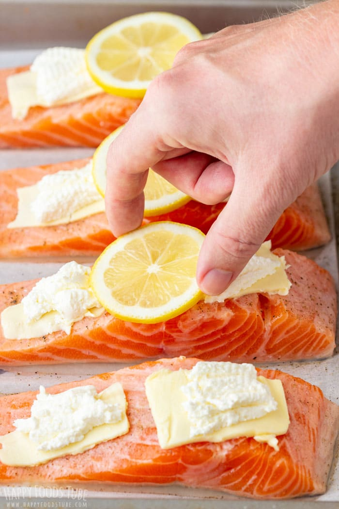 How to Make Oven Baked Salmon Fillets Step 2