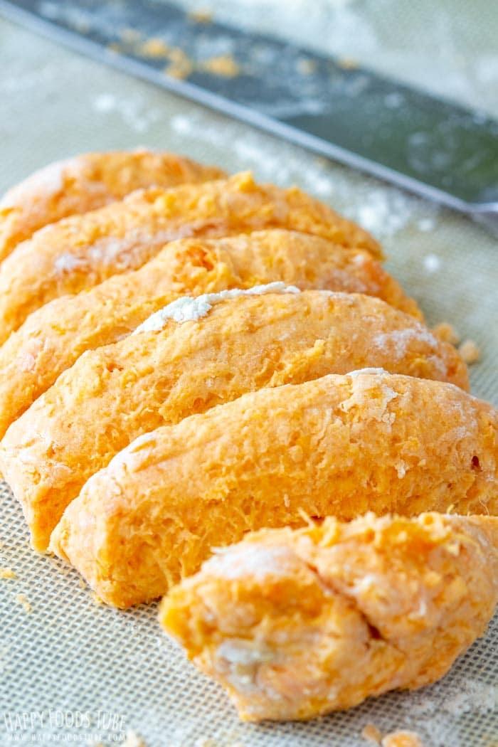 How to make Sweet Potato Gnocchi Step 2