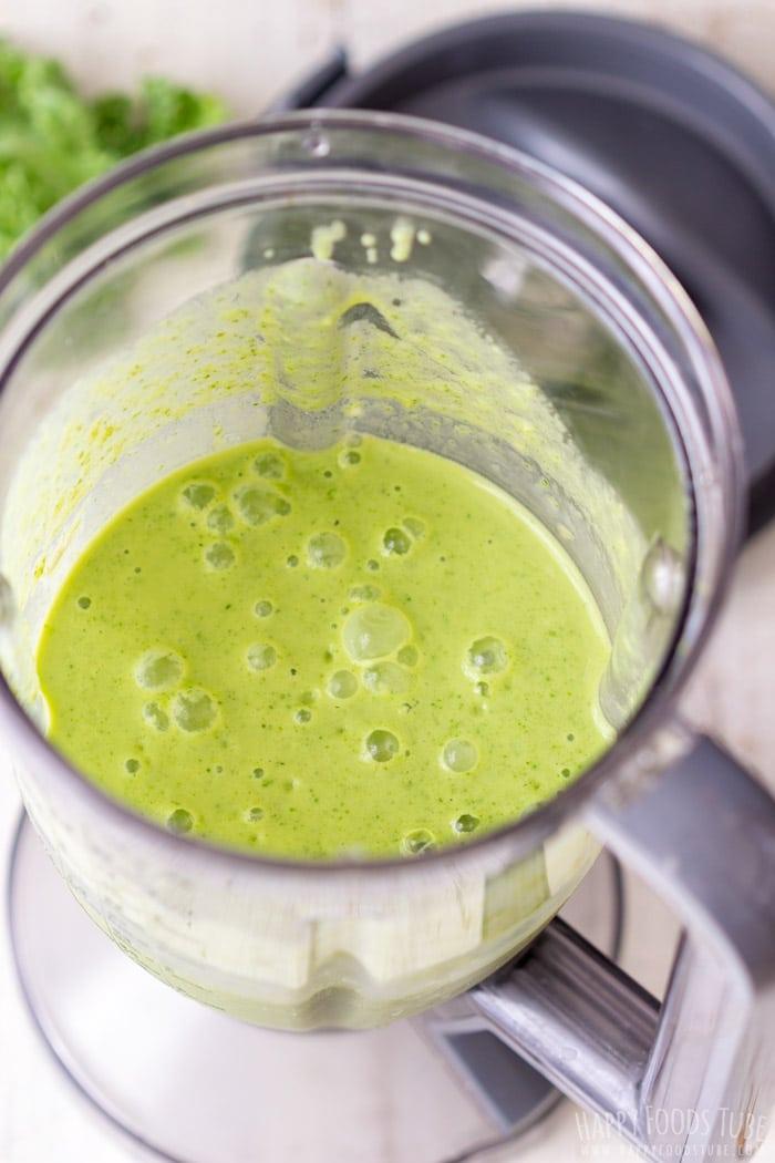 How to make Mango Kale Smoothie Step 4