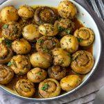 Herbed Mushrooms with Garlic