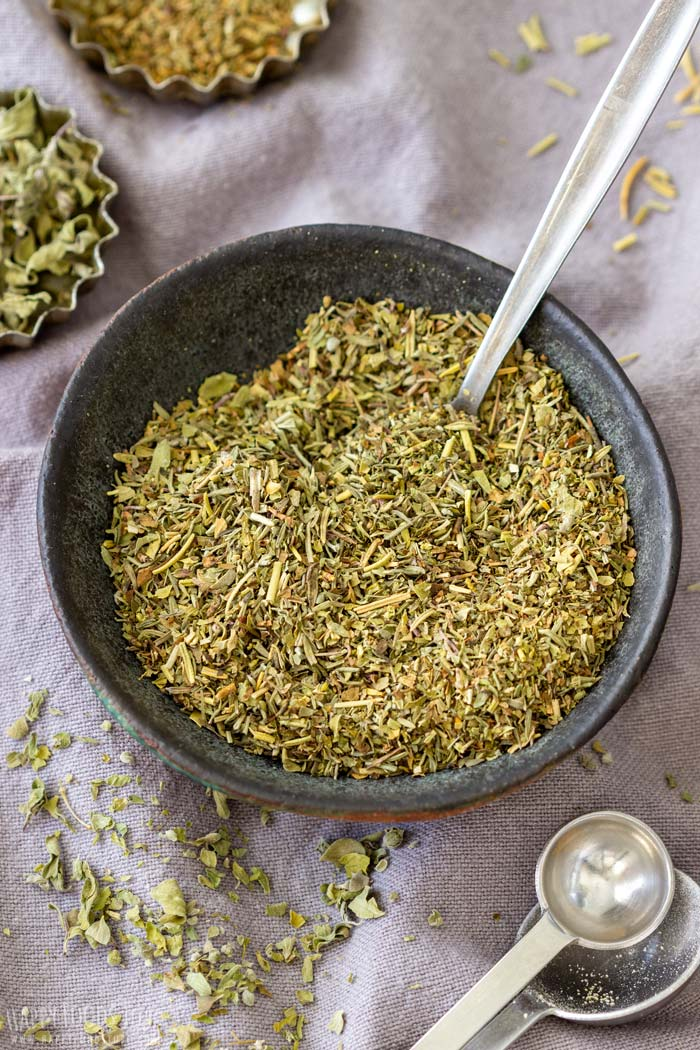 Homemade Italian Seasoning from Dried Herbs