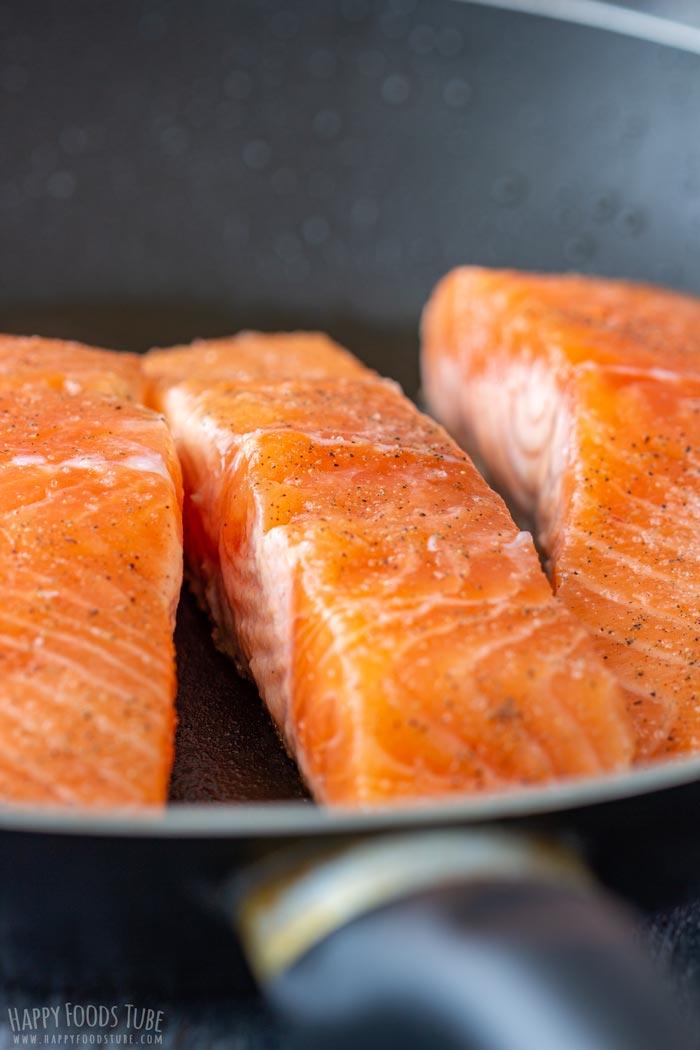 How to make Orange Glazed Salmon Step 2