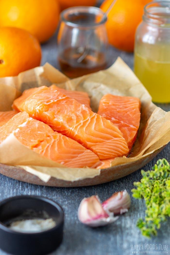 Orange Glazed Salmon Ingredients