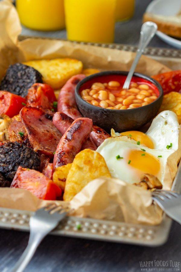 Traditional Full Irish Breakfast