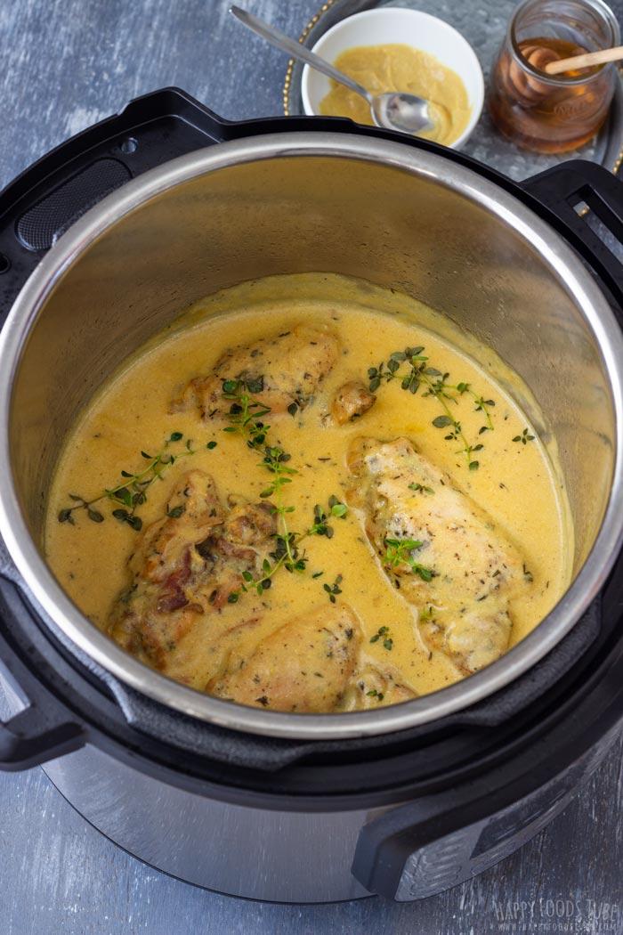Instant Pot Honey Mustard Chicken