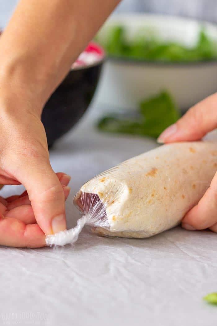 How to make Ham and Cheese Pinwheels Step 4