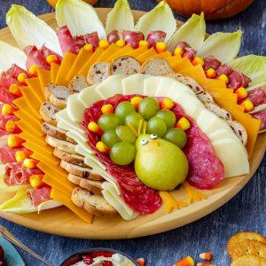 Homemade Thanksgiving Cheese Board