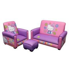 Kids Sofa Set Kasala Benson Cutest Hello Kitty Bedroom For Girls