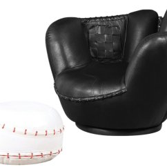 Baseball Glove Chair Home Goods Diy Covers For Wedding 11 Cool Sports Chairs Toddler Boys