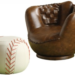 Kids Sports Chairs Acrylic Side Chair With Cushion 11 Cool For Toddler Boys Baseball Glove And Ottoman