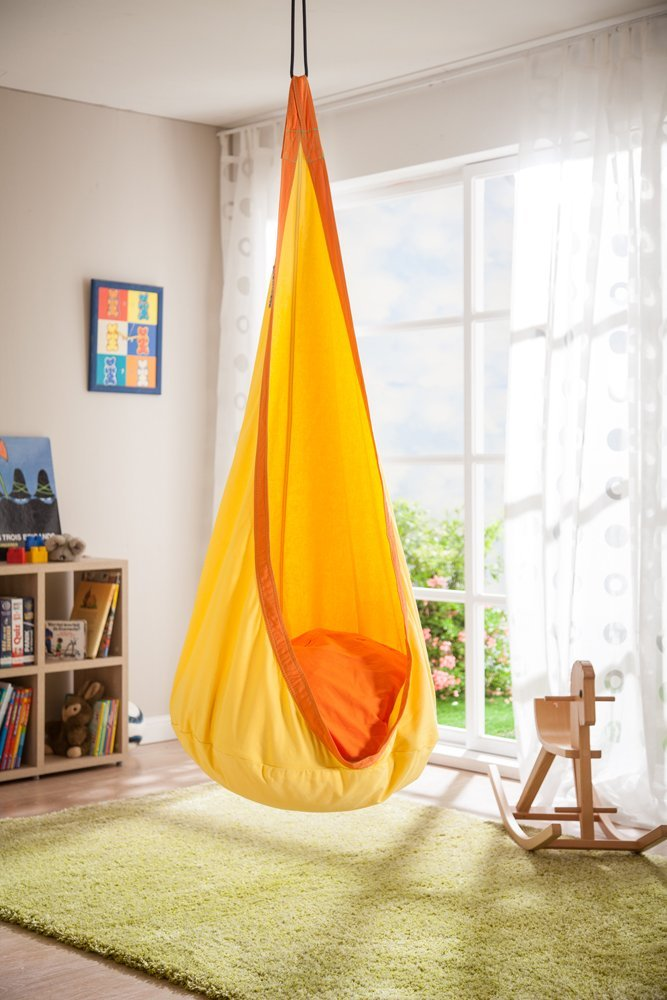 hanging chair hammock stability ball cute, colorful and fun chairs for kids!