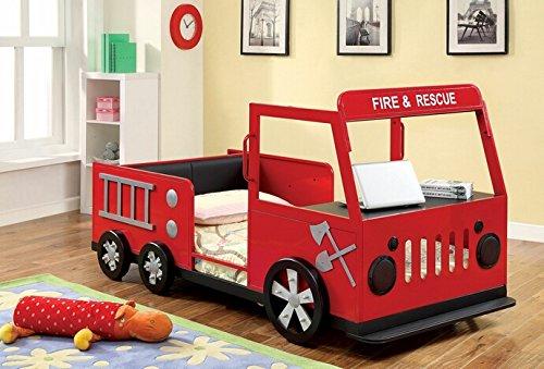fire truck bedroom decor ideas for boys