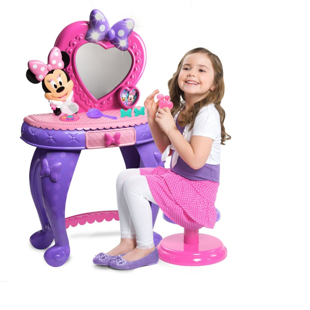 purple makeup vanity chair eames sale cutest tables for girls