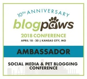 BlogPaws Conference Ambassador Badge