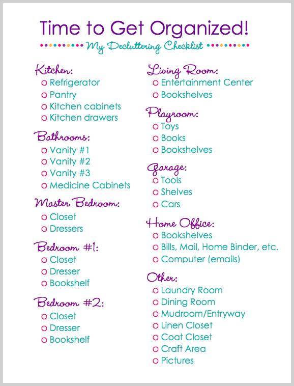 declutter bedroom checklist   Functionalities.net