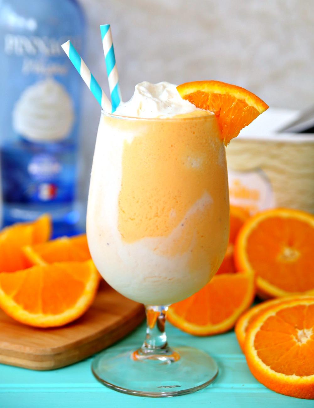 boozy orange creamsicle float
