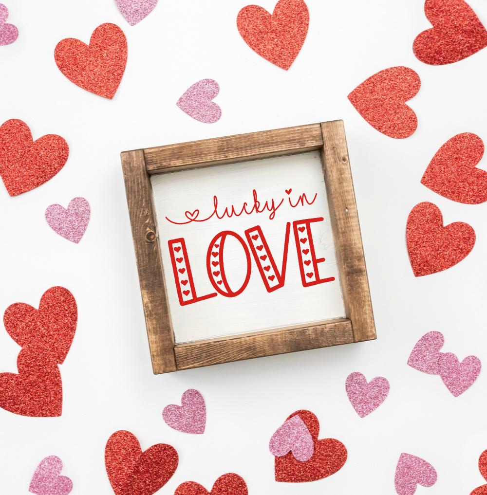 Download Free Valentine's Day Love SVG Bundle - Happy-Go-Lucky