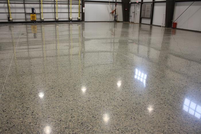 San Antonio Polished Concrete  Custom Designs