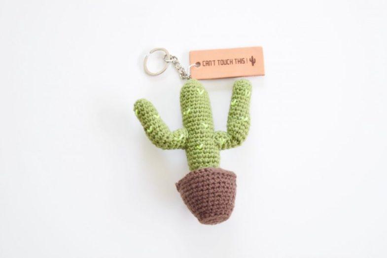 Nieuw Cactus sleutelhanger haken! - Happy Handmade living ET-97