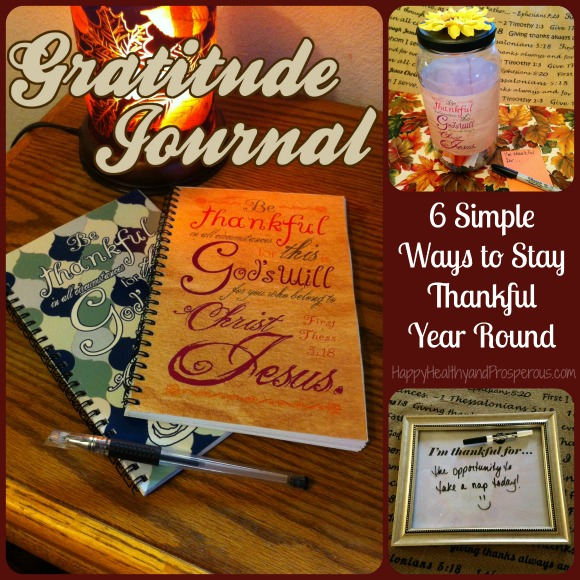 6 Simple Ways to Stay Thankful Year Round