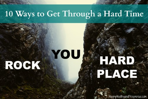 Being a Christian doesn't exempt us from going through hard times. Sometimes it's hard to know what to do. Here are 10 ways to get through a hard time...
