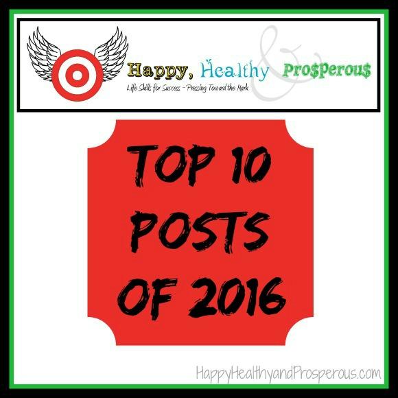 Top 10 Happy, Healthy & Prosperous Posts of 2016