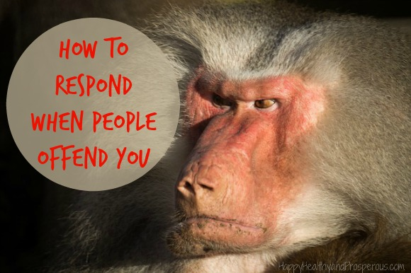 How to Respond When People Offend You...